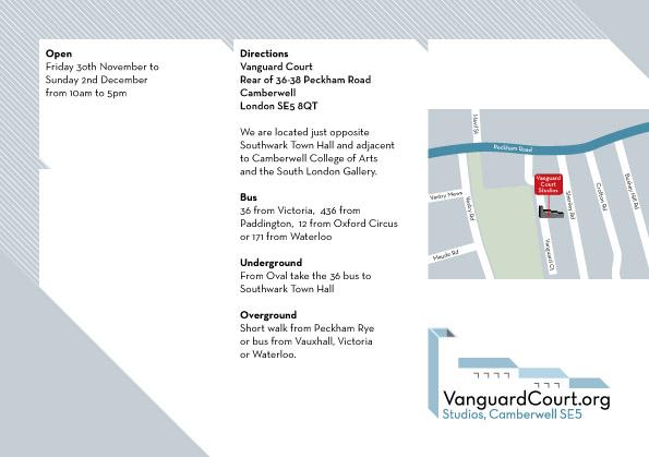 Vanguard Court Open Studios November / December 2012